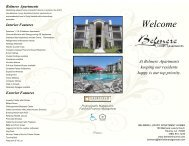 Click Here to PRINT BROCHURE - Belmere Luxury Apartments