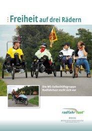 Freiheitauf drei Rädern - Radfahrlust