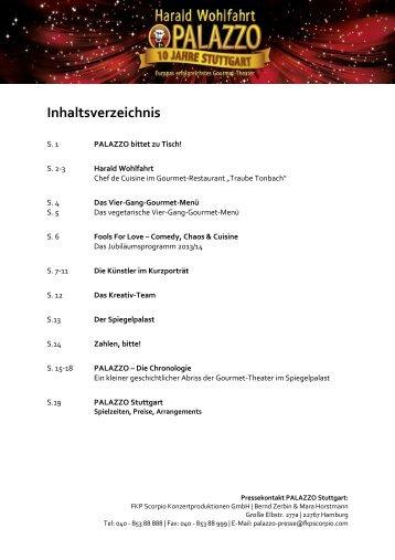 Harald Wohlfahrt PALAZZO Stuttgart Spiegelpalast auf dem ...