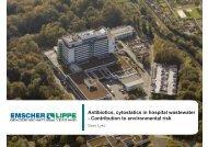 Antibiotics, cytostatics in hospital wastewater - Contribution to ...