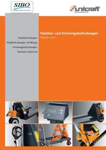Werkstatttechnik-Hubgeraete