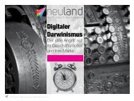 Digitaler Darwinismus - neuland | digital transformation and vision
