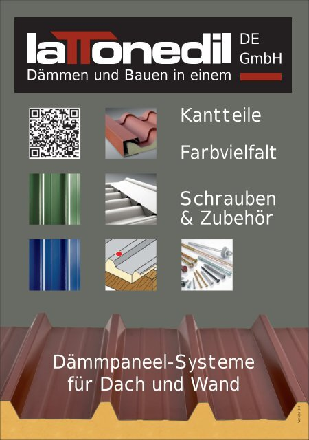 Zubehör-Preisliste - Lattonedil