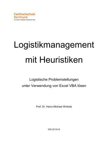 Modellbasiertes Logistikmanagement - Prof. Dr. Heinz-Michael ...