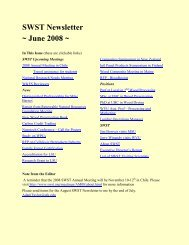 SWST Newsletter June 2008.pdf - Society of Wood Science and ...