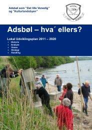 Adsbøl udviklingsplan - Sønderborg kommune på InfoLand