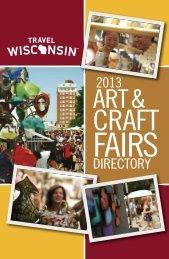 2013 Arts & Craft Fairs Directory - Wisconsin