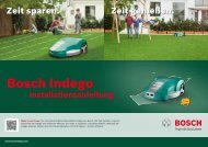 PDF-Download - Bosch Indego