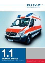 PDF-Broschüre herunterladen - BINZ Ambulance- und ...