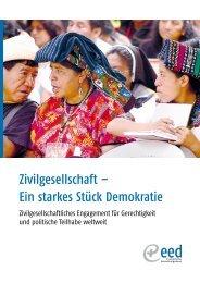 Zivilgesellschaft – Ein starkes Stück Demokratie - Ziviler ...