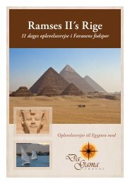 Ramses II´s Rige - DaGama Travel