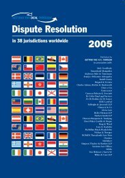Dispute Resolution 2005 - Sorainen