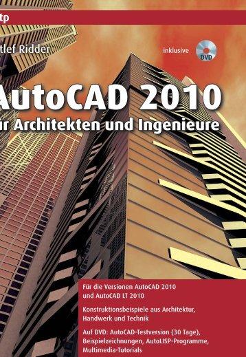 AutoCAD 2010 - Verlagsgruppe Hüthig Jehle Rehm GmbH
