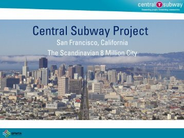 Central Subway Project - 8millioncity