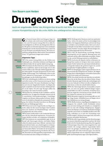 Dungeon Siege - GameStar