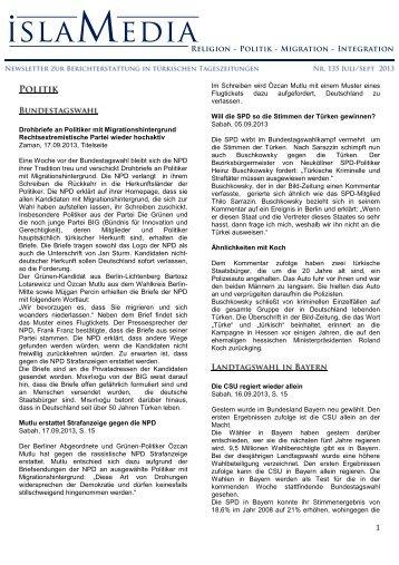 Newsletter-135 - Erlanger Zentrum für Islam und Recht in Europa ...