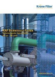 KAF Bernoulli-Filter - Krone Filter