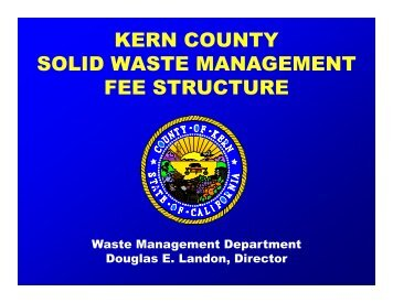 Kern County Case Study