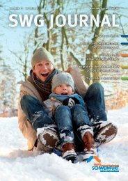 Mieter Journal der SWG - Ausgabe 15 (Dezember 2013)