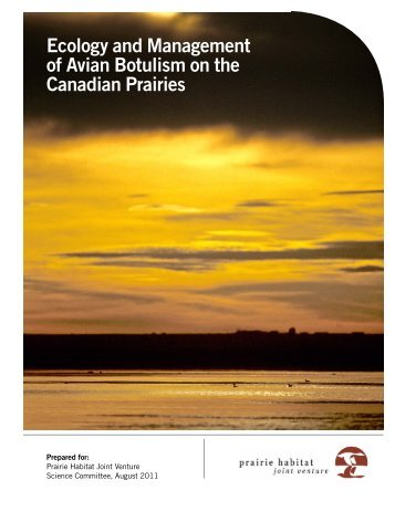 Ecology and Management of Avian Botulism on the Canadian Prairies