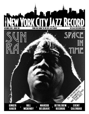 October 2013 - The New York City Jazz Record