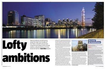 Lofty ambitions - Inside Housing
