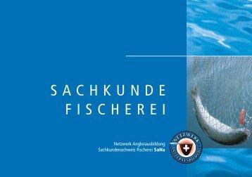 SACHKUNDE FISCHEREI - Netzwerk Anglerausbildung
