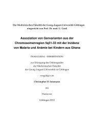 Öffnen - eDiss - Georg-August-Universität Göttingen