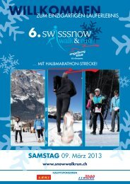 Download - Swiss Snow Walking Event