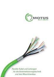 Flexible Kabel und Leitungen für die Automatisierungstechnik und ...