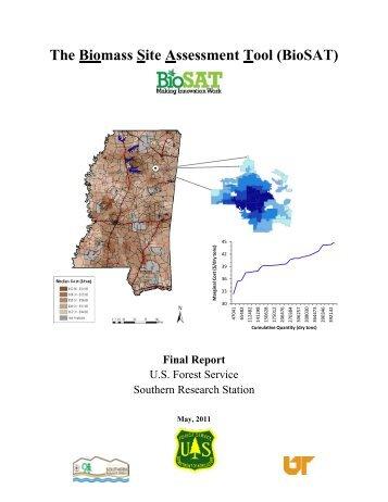 The Biomass Site Assessment Tool (BioSAT) Final Report