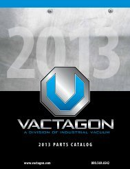 2013 PARTS CATALOG - Industrial Vacuum Equipment Corp.