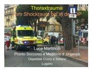 Das Thoraxtrauma - Vom Schockraum bis in den OP