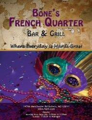 Where Everyday is Mardi Gras! - Bones French Quarter