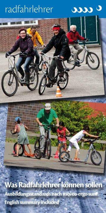 Was Radfahrlehrer können sollen