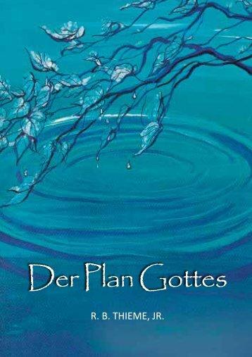 Der Plan Gottes - Solagracia-Online