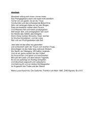 Weitere Gedichte Von Marie Luise Kaschnitz