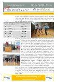 Sondernewsletter 2/2012 zur Sportbusiness Challenge & Charity - Page 2