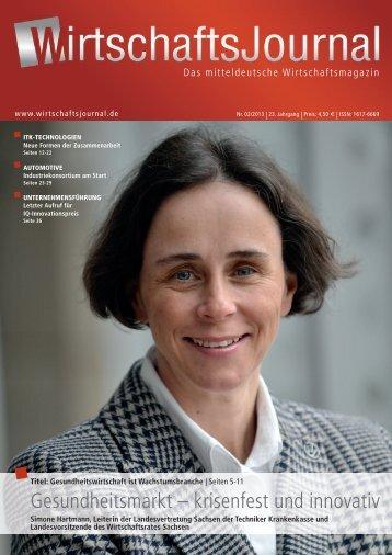 Ausgabe 02/13 - Wirtschaftsjournal