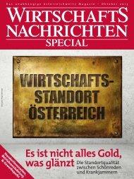 Ausgabe 10/2013 Wirtschaftsnachrichten Special