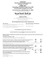 Royal Dutch Shell plc - Zonebourse.com