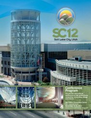 Keynote/ Invited Talks - SC12 - The SC Conference Series
