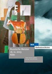 Russische Meister 16. 11. 2013 Köln - WDR.de