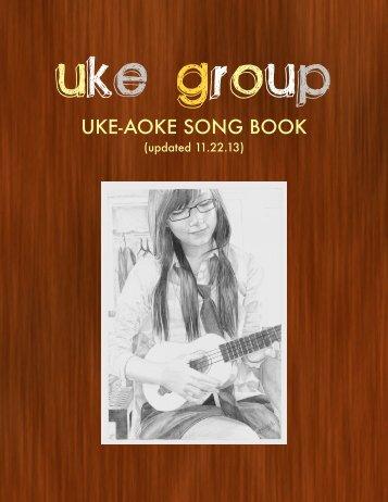 UKE-AOKE SONG BOOK - Uke Group