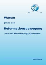 Reformationsbewegung - Reformierte Siebenten-Tags-Adventisten ...