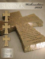 Weihnachten 2012 - Slabbinck