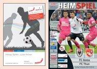 Saison 2013/14 - Ausgabe 9: FC Aarau - FC Thun