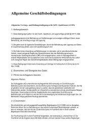 Allgemeine Geschäftsbedingungen - Spedition Ihm