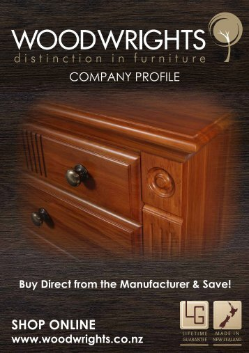 Woodwrights Furniture brochure - Home Shows
