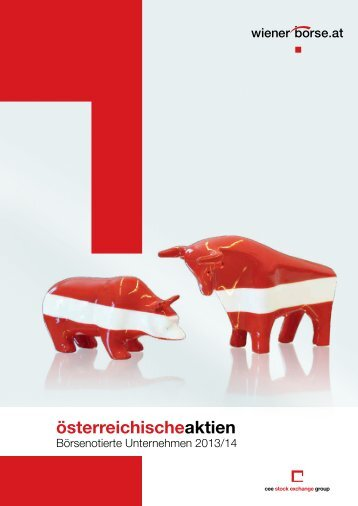 Börsenotierte Unternehmen in Österreich 2013/2014 - Wiener Börse